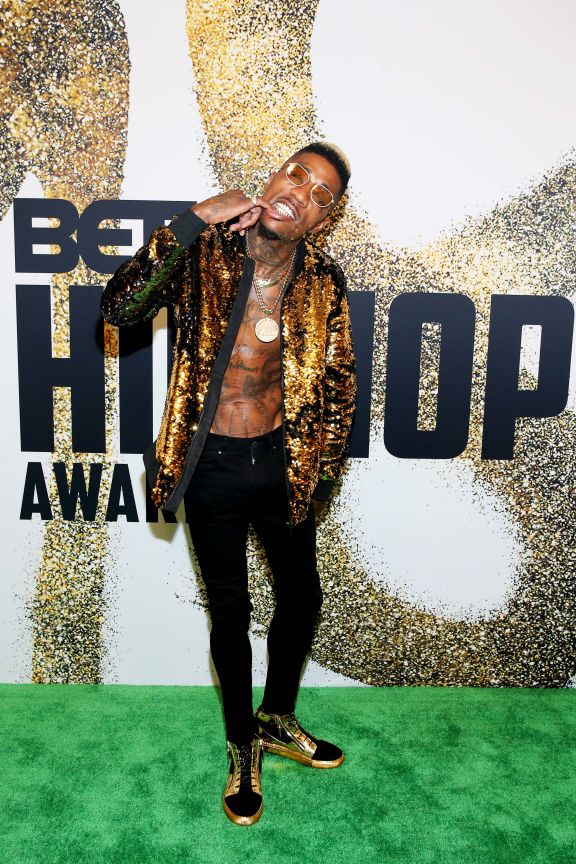 Solo Lucci at BET Hip Hop Awards 2018 in Miami on Celebrity